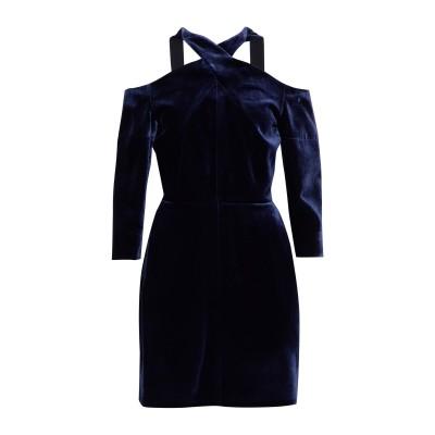 ローラン ムレ ROLAND MOURET ミニワンピース&ドレス ダークブルー 8 レーヨン 82% / シルク 18% ミニワンピース&ドレス