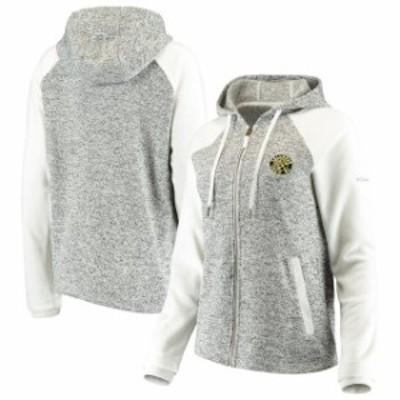 Columbia コロンビア スポーツ用品  Columbia Columbus Crew SC Womens White Darling Days Full-Zip Jacket