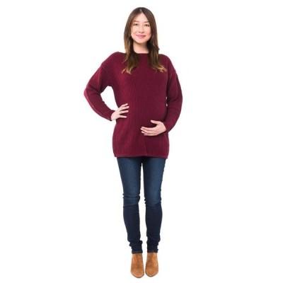 ノム レディース ニット・セーター アウター Odette Maternity + Nursing Sweater