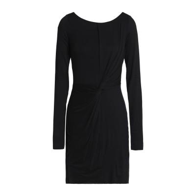 BAILEY 44 ミニワンピース&ドレス ブラック L レーヨン 95% / ポリウレタン 5% ミニワンピース&ドレス