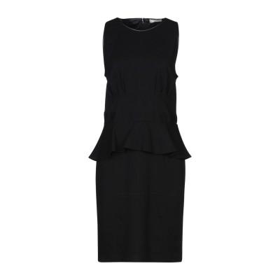 .AMEN. ミニワンピース&ドレス ブラック 46 レーヨン 68% / ナイロン 26% / ポリウレタン 6% ミニワンピース&ドレス