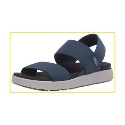 新品KEEN Women's ELLE Backstrap Sandal, Blue, 6.5並行輸入品