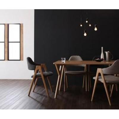 ダイニング テーブル チェア セット / 5点セット(テーブル+チェア4脚) W140 4人 テーブル:天然木 タモ材 チェア:天然木 おしゃれ 北欧