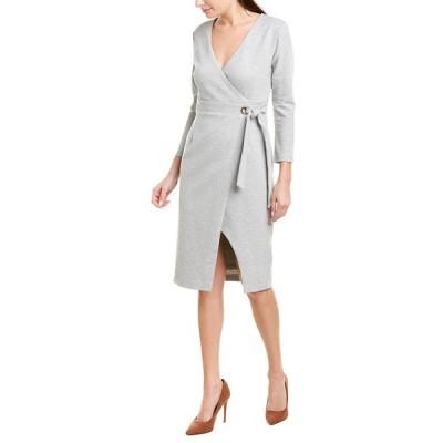 ハッチ ワンピース トップス レディース Hutch Wrap Dress grey