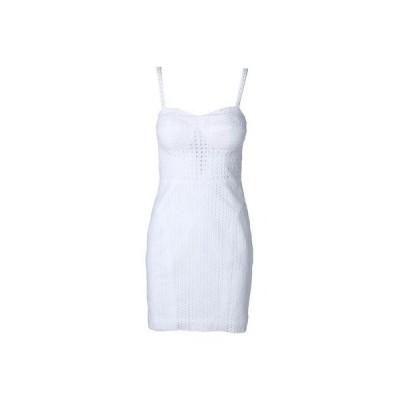 ドレス 女性  レベッカミンコフ Rebecca Minkoff 6237 レディース Claudia ホワイト Eyelet ノースリーブ カジュアル ドレス 0
