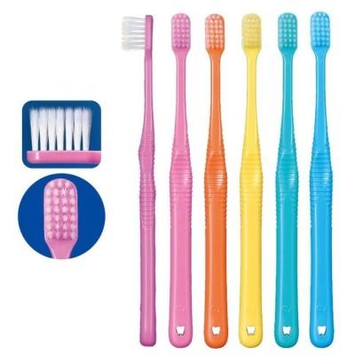 歯ブラシ Ci PRO FOUR 4列歯ブラシ MS やややわらかめ 5本セット テーパー毛(メール便5点まで)