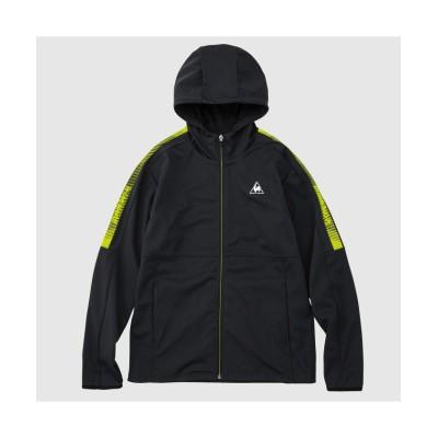 【ルコックスポルティフ】 ボンディングジャケット メンズ ブラック系 S le coq sportif