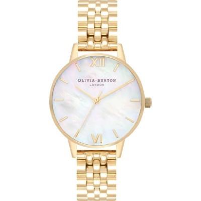 オリビア バートン Olivia Burton レディース 腕時計 ブレスレットウォッチ Gold-Tone Stainless Steel Bracelet Watch 30mm Gold