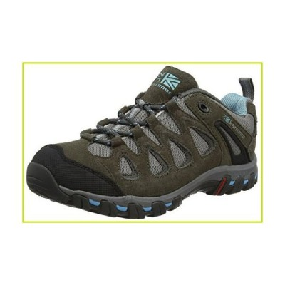 Karrimor Women's Supa 5 Ladies Low Rise Hiking Boots, Grey Blue, 41.5【並行輸入品】