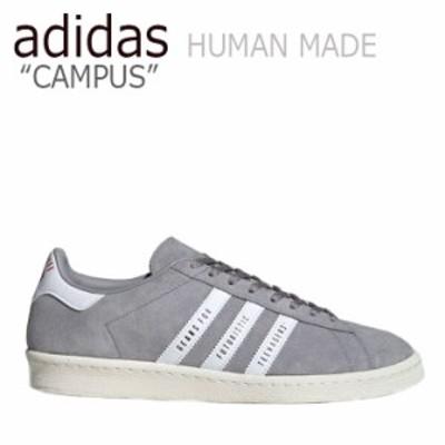アディダス スニーカー adidas メンズ レディース CAMPUS HUMAN MADE キャンパス ヒューマン メイド GREY グレー FY0733 シューズ