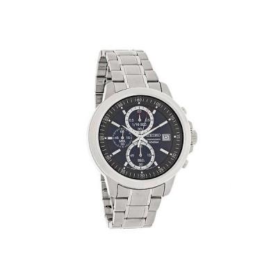腕時計 セイコー Seiko メンズ ブルー Date ダイヤル クォーツ クロノグラフ ブレスレット 腕時計 SKS443