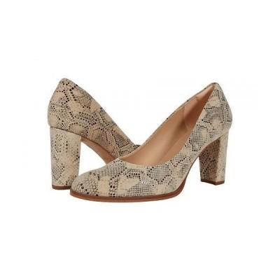 Clarks クラークス レディース 女性用 シューズ 靴 ヒール Kaylin Cara 2 - Taupe Snake
