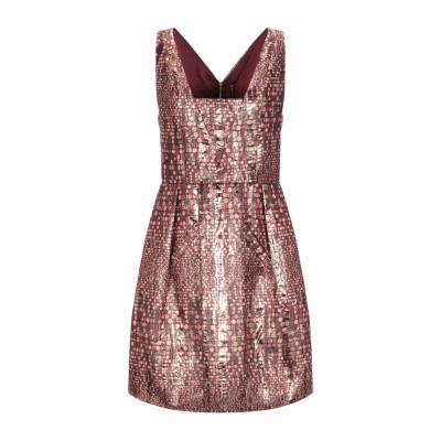 マニラ グレース MANILA GRACE ミニワンピース&ドレス ブロンズ 42 ポリエステル 100% ミニワンピース&ドレス