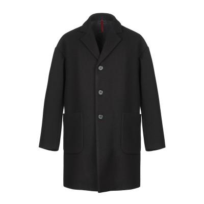 ベルナ BERNA コート ブラック 52 ポリエステル 93% / レーヨン 5% / ポリウレタン 2% コート
