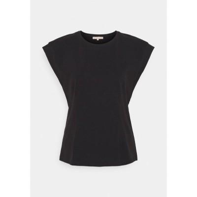 ソフト レベルス Tシャツ レディース トップス WINONA - Basic T-shirt - black