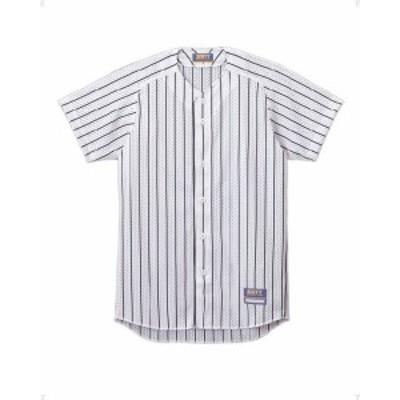 ゼット ZETT 野球ウェア  ユニフォーム用ストライプメッシュシャツ BU521-1129