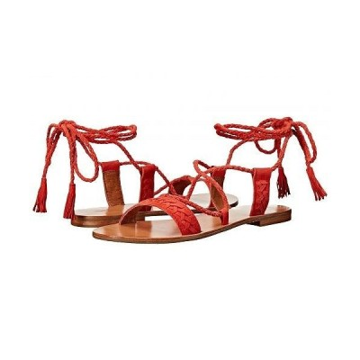 Frye フライ レディース 女性用 シューズ 靴 サンダル Ruth Whipstitch Ankle - Coral Suede