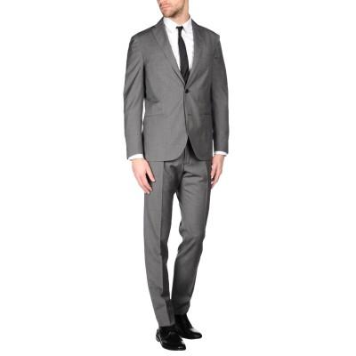 ボリオリ BOGLIOLI スーツ グレー 60 バージンウール 100% スーツ