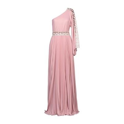 MAESTRI ロングワンピース&ドレス ピンク 8 ポリエステル 100% ロングワンピース&ドレス