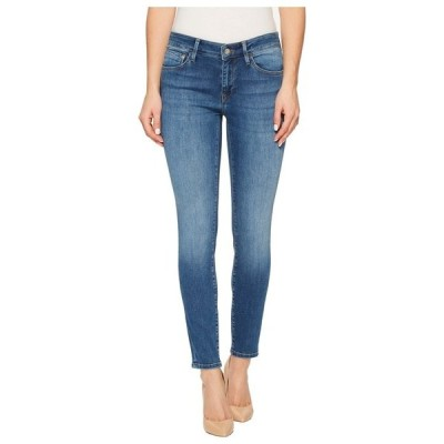 """マーヴィ ジーンズ レディース デニムパンツ ボトムス Adriana Midrise Ankle Super Skinny 27"""" in Medium Blue"""