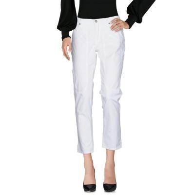 ジェッカーソン JECKERSON パンツ ホワイト 31 コットン 98% / ポリウレタン 2% パンツ