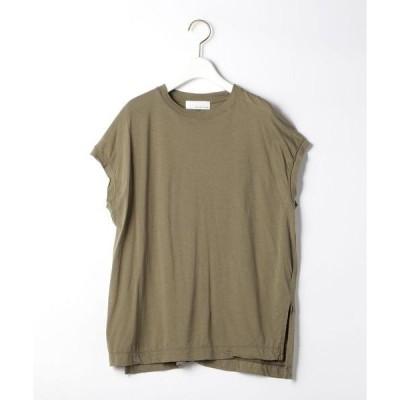 tシャツ Tシャツ SC ビンテージ ライク チュニック ノースリーブ プルオーバー カットソー