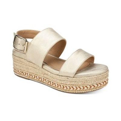 セブンダイアルズ レディース サンダル シューズ Leawood Espadrille Platform Women's Sandal Pale Gold