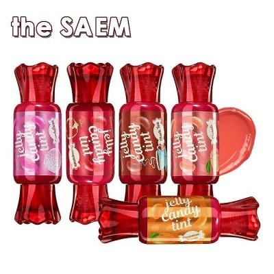 【正品】the SAEM センムルゼリーキャンディティント/ザセム JELLY CANDY TINT ティント リップ 韓国 コスメ