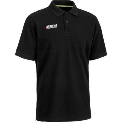 ダービースター サッカー トレーニングポロシャツ黒 サイズXL