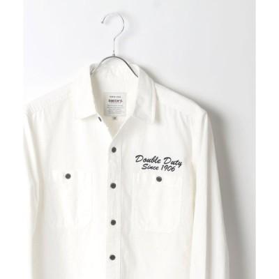 【ラザル】【Lazar】SMITH'S AMERICAN/スミスアメリカン  ワークシャツ