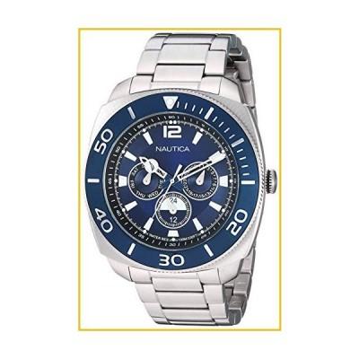【☆送料無料☆新品・未使用品☆】Nautica Men's Bal Harbour NAPBHS904 Silver Stainless-Steel Quartz Dress Watch【並行輸入品】