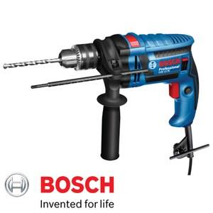 BOSCH 650W插電式 GSB 13RE德國震動電鑽附工具箱 內贈100件配件組