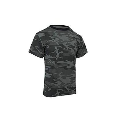 特別価格ロスコ カモ Tシャツ (2XL, ブラックカモ)好評販売中