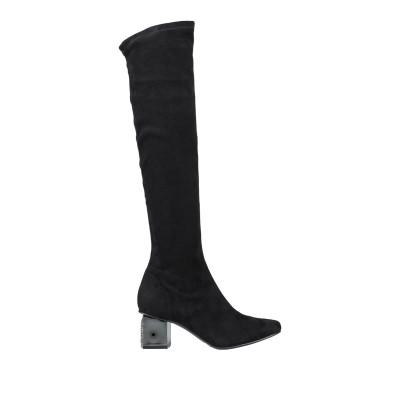 NILA & NILA ブーツ ブラック 35 紡績繊維 ブーツ