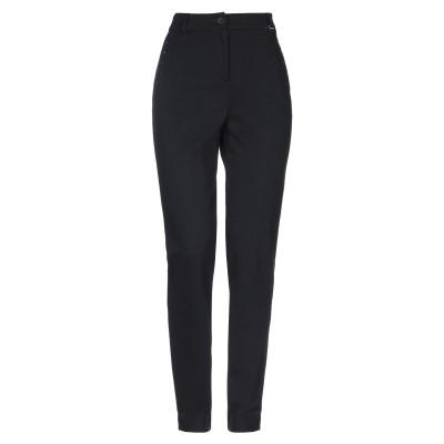 LUCKYLU  Milano パンツ ブラック 42 レーヨン 65% / ナイロン 30% / ポリウレタン 5% / ポリエステル パンツ