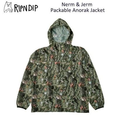 リップンディップ(RIPNDIP) Nerm & Jerm Packable Anorak Jacket  Multi  ジャケット/アウター/男性用/メンズ 送料無料 [BB]