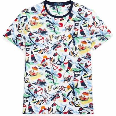 ラルフ ローレン POLO RALPH LAUREN メンズ Tシャツ トップス t-shirt White