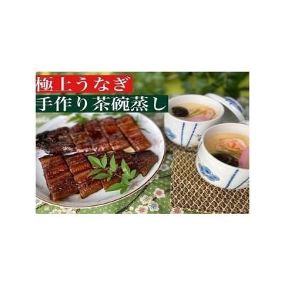 ふるさと納税 極上うなぎ1尾とこだわりの茶碗蒸しセット (H071102) 佐賀県神埼市