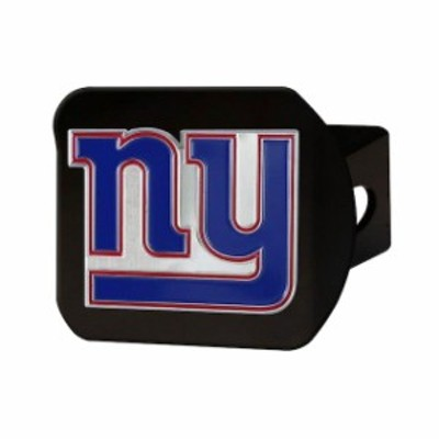Fan Mats ファン マット スポーツ用品  New York Giants Color on Black Hitch Cover