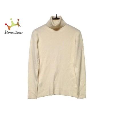 ニジュウサンク 23区 長袖セーター サイズ38 M レディース アイボリー   スペシャル特価 20210208