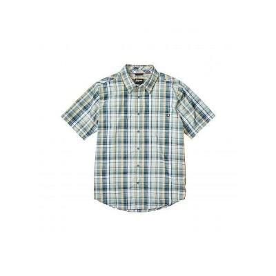 Marmot マーモット メンズ 男性用 ファッション ボタンシャツ Lykken Short Sleeve Shirt - Crushed Mint