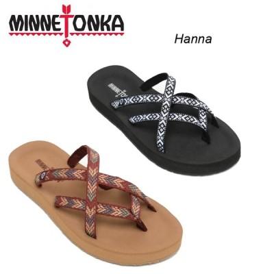 MINNETONKA ミネトンカ 靴 レディース サンダル HANNA  ビーチサンダル フラットサンダル 30代 40代 人気 コーデ おしゃれ おすすめ 歩きやすい