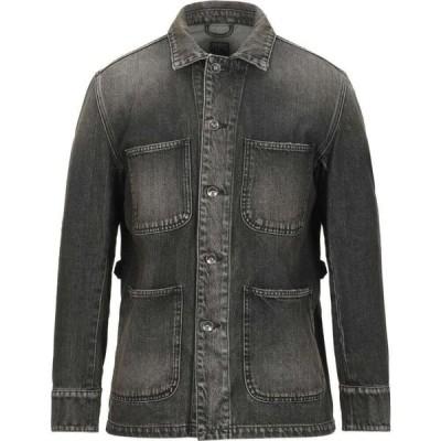 ピーアールピーエス PRPS メンズ ジャケット デニムジャケット アウター denim jacket Black