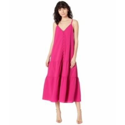 テッドベーカー レディース ワンピース トップス Luaan Button Through Cami Dress Deep Pink