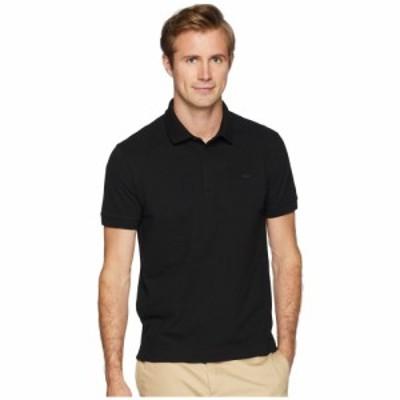 ラコステ Lacoste メンズ ポロシャツ トップス Short Sleeve Solid Stretch Pique Regular Black