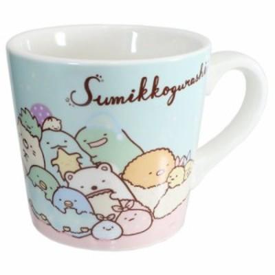 ◆すみっコぐらし 食器ギフト マグカップ & ミニタオル セット おとまり会(651)
