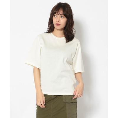 (RoyalFlash/ロイヤルフラッシュ)KALNA/カルナ/無地Tシャツ/レディース OFF/WHITE
