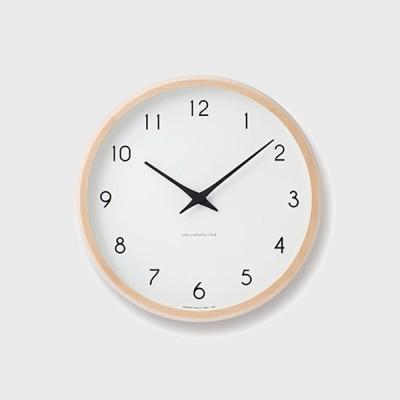 時計 掛け時計 クロック レムノス カンパーニュ Lemnos PC10-24W Campagne ギフト お中元