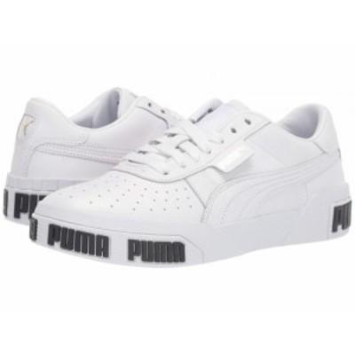 PUMA プーマ レディース 女性用 シューズ 靴 スニーカー 運動靴 Cali Bold Puma White/Metallic Gold【送料無料】