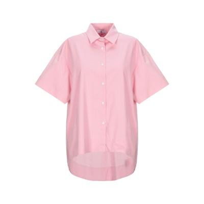 SFIZIO シャツ ピンク 42 コットン 96% / ポリウレタン 4% シャツ